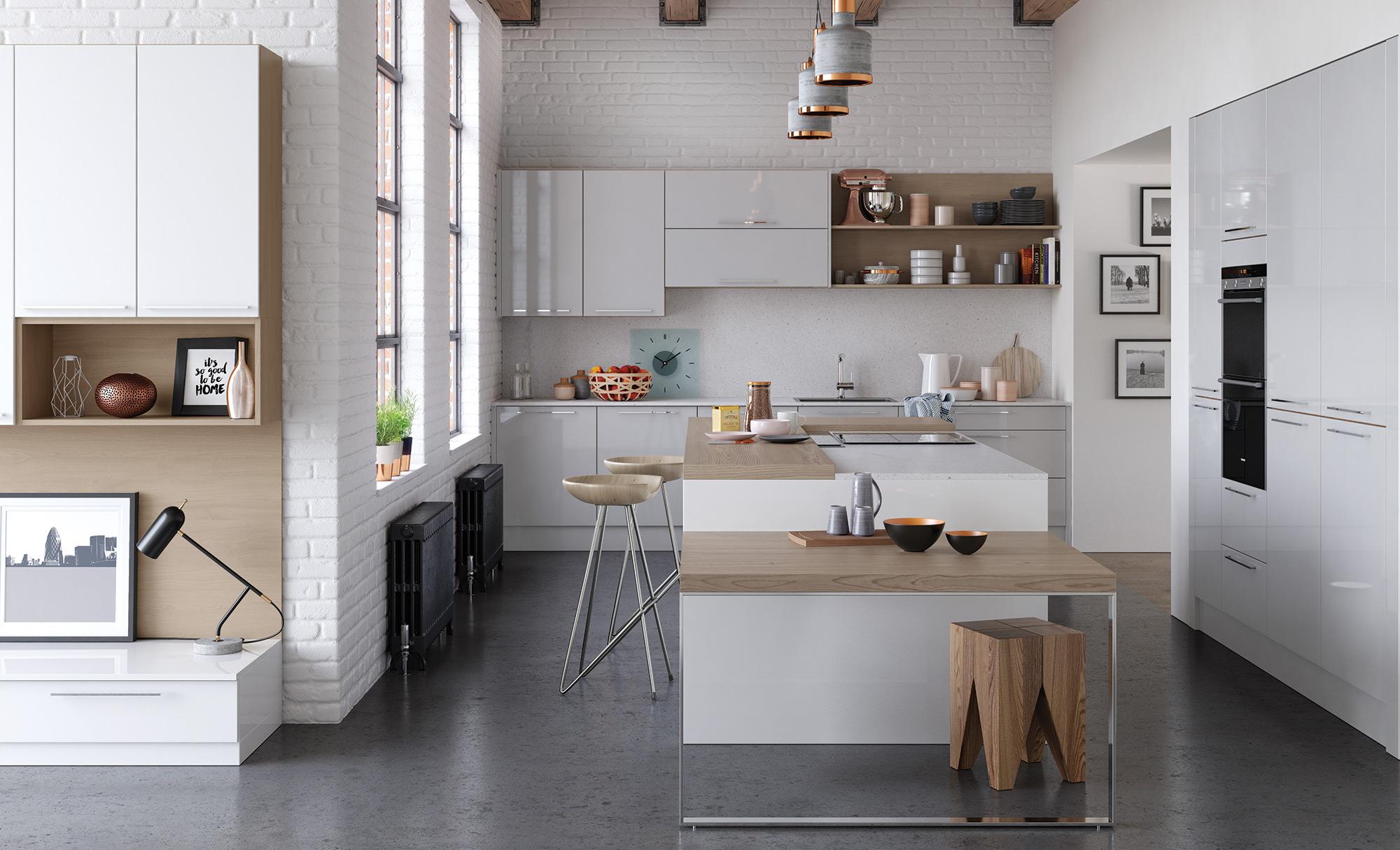 German Kitchens Rigid Built