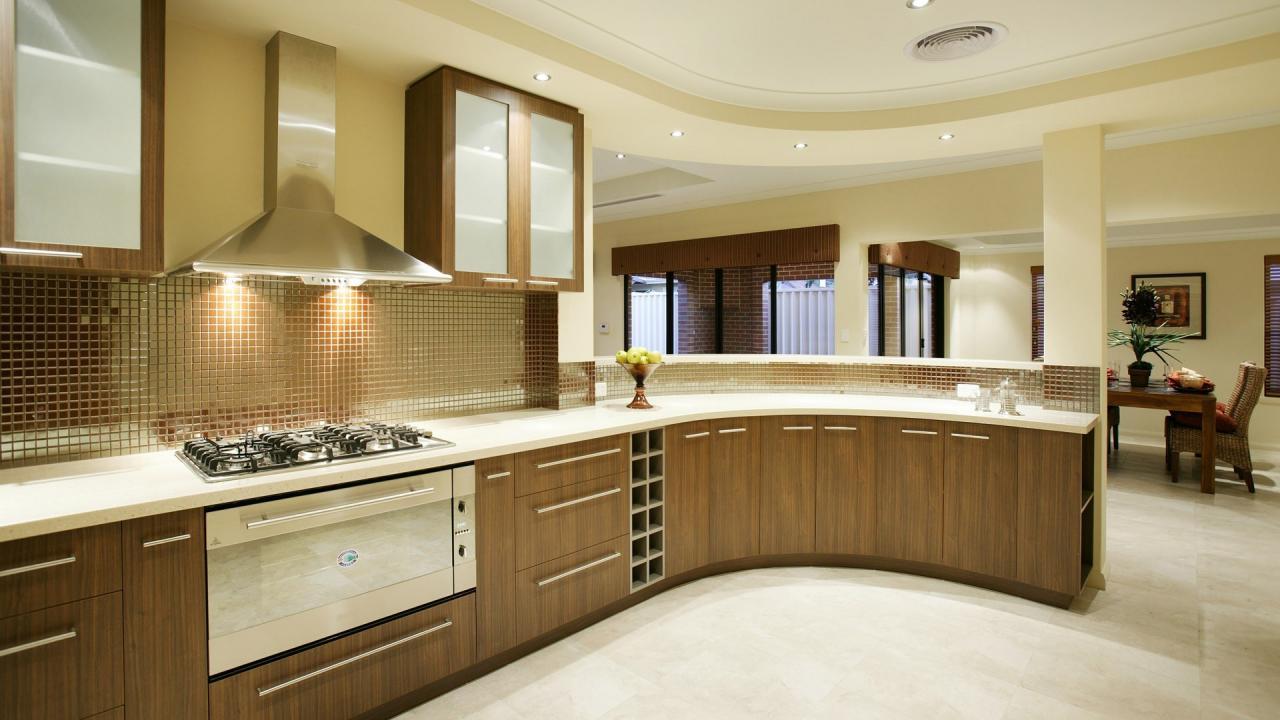 Brown Bespoke Kitchen
